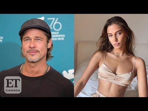 Brad Pitt German Model Nicole Poturalski Fuel Romance Rumours Youtube