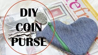 How to sew a Coin Purse, Beginner Sewing Project