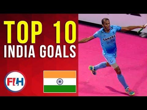 TOP 10 INDIA MEN'S HOCKEY GOALS! | FIH Hockey