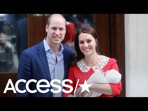 Prince William & Kate Middleton Have Officially Chosen A Name For Baby No. 3! | Access