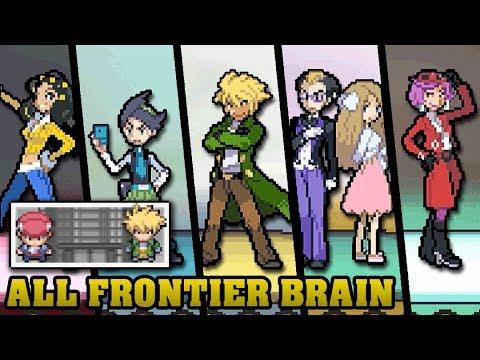 Pokémon DPPt & HGSS - All Frontier Brain Battles【Silver Prints】[HQ]