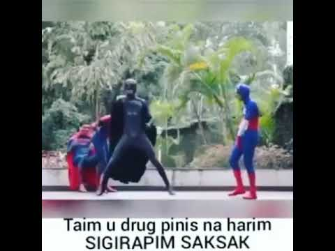 Sigirapim Saksak Superheroes Version