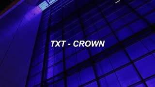 TXT (투모로우바이투게더) '어느날 머리에서 뿔이 자랐다 (CROWN)' Easy Lyrics