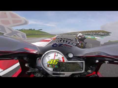 Galfer Race Disc CW1 Track Test @ Sepang