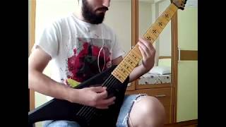 mastodon - high road (7 string/drop a cover)