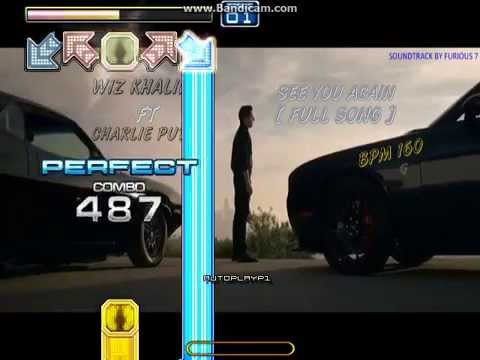 StepMania AMX - See You Again [Full Song] S17