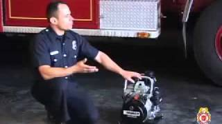 Auto extrication tools demonstration