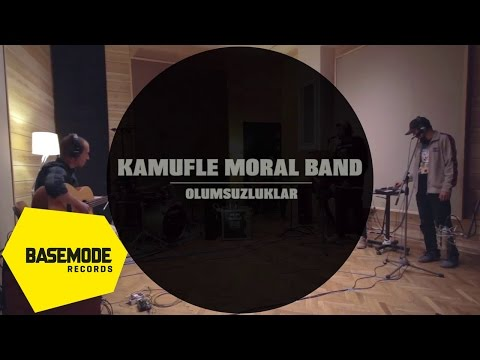Kamufle Moral Band - Olumsuzluklar | Studio Session | Video