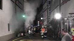 Feuer in Fritzlar: Fritteusen im Hotel Zur Spitze brannten