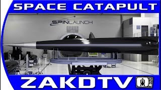 SPINLAUNCH the newest space company that will launch without rockets (2018)