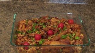 Dry Potatoes And Cauliflower Curry-sukhi Aloo Gobhi Ki Sabji-spice Cauliflower Potatoes Curry