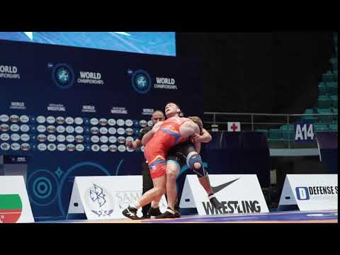 Olympic Champ ALEKSANYAN (ARM) Blanks HRABOVIK (BLR), 5 -0