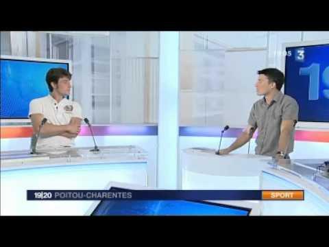 Brian Joubert studio interview in Poitiers 03.10.2010
