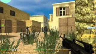 Дефективный Целитель играет в Counter Strike