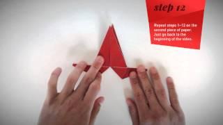 Origami Reindeer Tutorial
