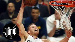 The Jump reacts to Blake Griffin's best stiff-arm slam dunks | The Jump | ESPN
