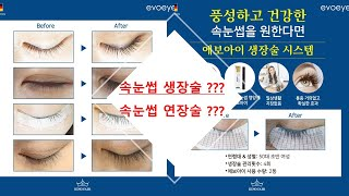 속눈썹 생장술 , 속눈썹 연장 의 차이점 !!
