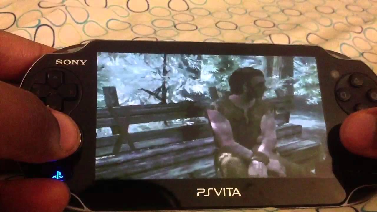 Skyrim on Ps Vita True Blue
