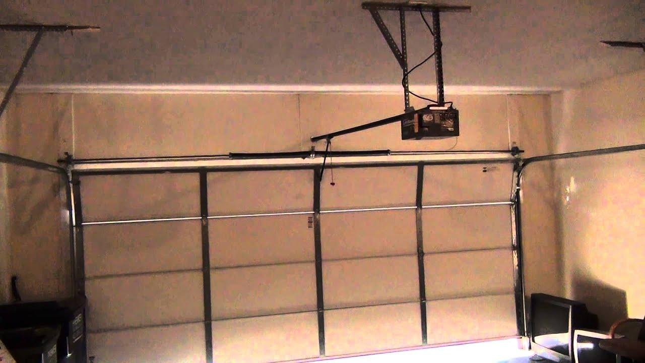 1 hp garage door openerAnn Archibalds Liftmaster 1 2 HP Garage Door Opener  YouTube
