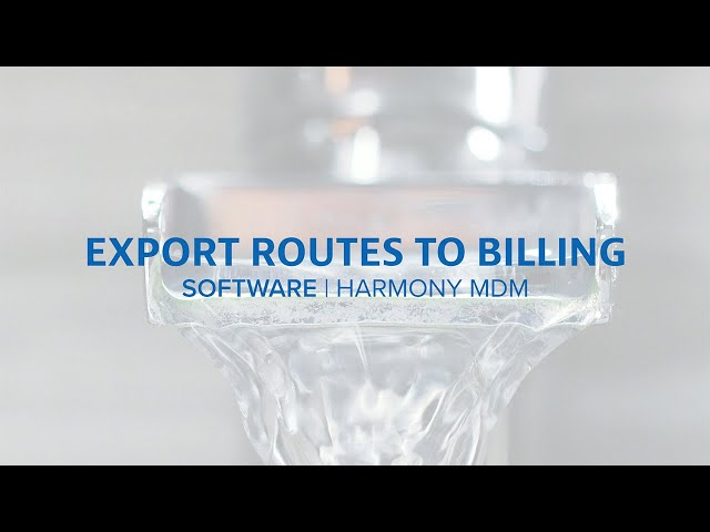 Exporting Routes to Billing