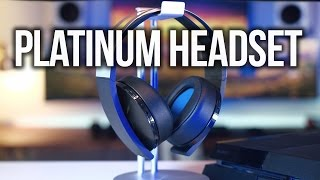 PlayStation 4 Platinum Wireless Headset Review!