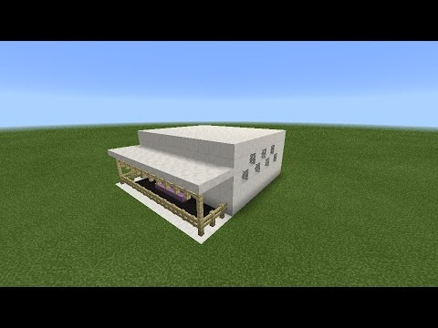 Build Modern House Minecraft Pe TimeLapse 1 YouTube