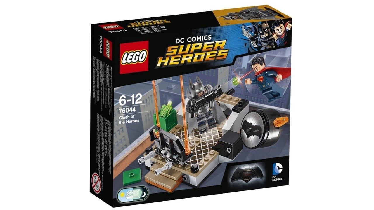 LEGO Batman V Superman 2016 - ALL sets pictures! - YouTube