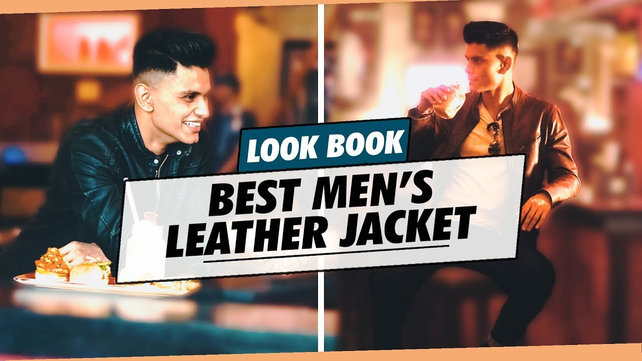 HOW TO STYLE A LEATHER JACKET | Men's Fashion | Style Inspiration by Mayank Bhattacharya