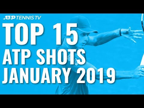 Top 15 Best ATP Shots & Rallies: January 2019