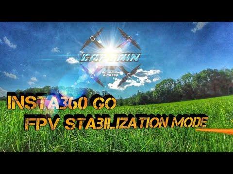 Фото Insta360 go new FPV stabilization Mode I Armattan Marmotte