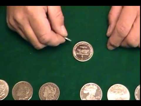 BEWARE FAKE SILVER COINS - Easy Test