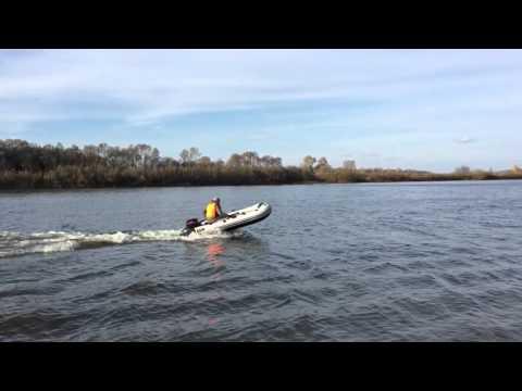 видео: Лодочный мотор hdx 9.8 лодка ривьера 320ск покатушки на суре