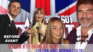 10 YEARS AFTER Britain's got talent - (6-16 years old) Connie Talbot