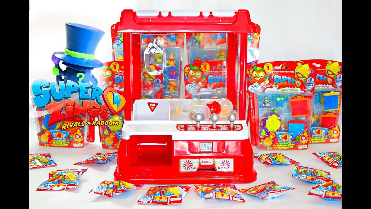 Get Surprise Machine We Envelopes Superzings Funny Enigma In Toys The Claw BWrCoeQdx