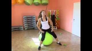 Фитбол. Эффективные упражнения для похудения