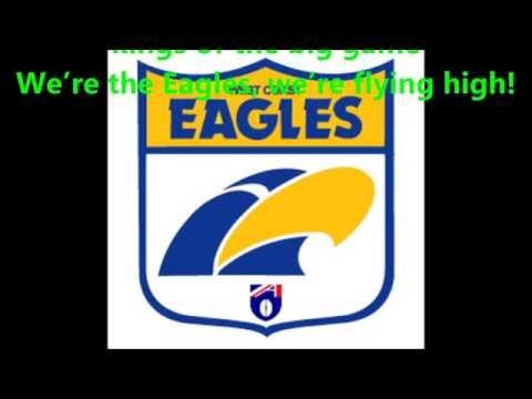 West Coast Eagles original theme song  (Lyrics)