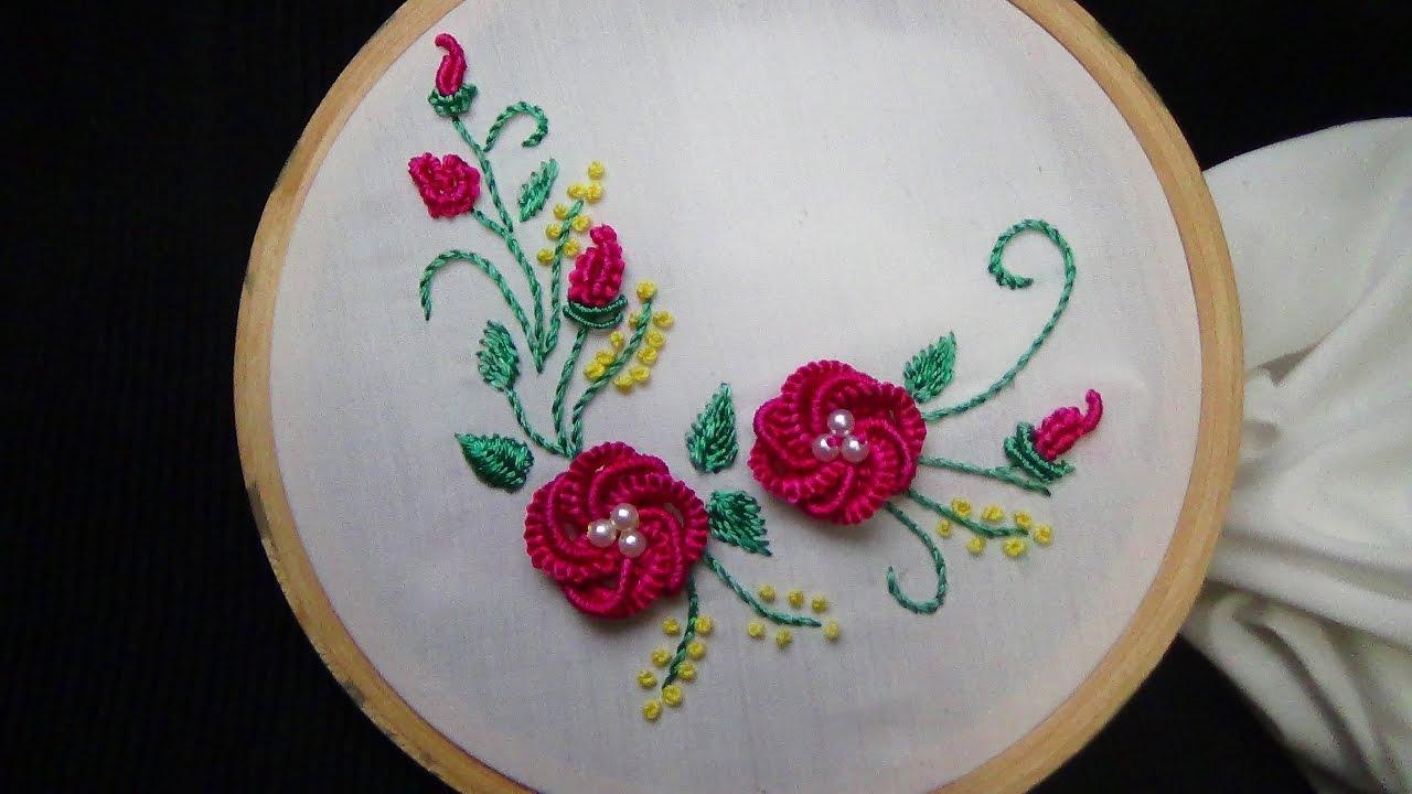 Brazilian Embroidery Stitches Designs