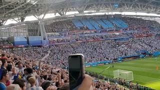 Vamos Argentina : Argeฑtina fans singing at Kazan stadium ! FIFA World Cup 2018 Russia