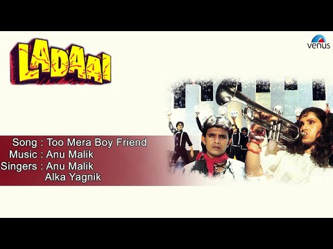 Ladaai : Too Mera Boy Friend Full Audio Song | Mithun Chakraborty, Dimple Kapadia |