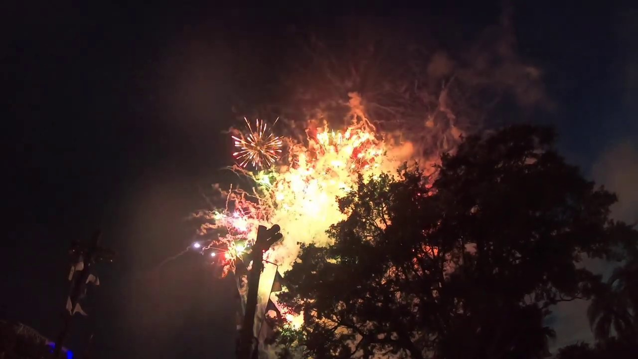 """SeaWorld July 4, 2020 - Infinity Falls and """"Light Up The Sky"""" Fireworks"""