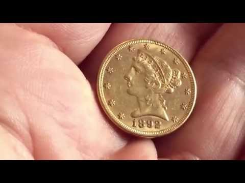 Unboxing some lil old American gold coins fer y'all