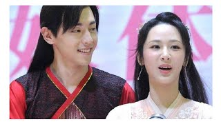 Deng lun 邓伦 and Yang zi 杨紫 cute interaction