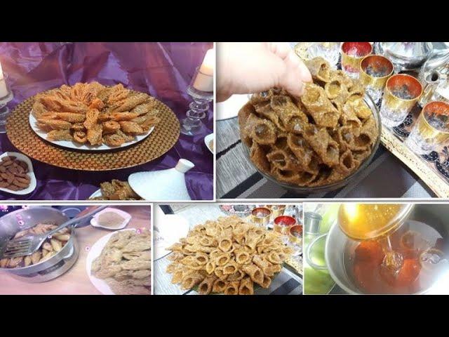 أجواء تحضيرات رمضان 2018 ????7 حلويات رمضان معسلة متنوعة / العسل المنزلي ???? بليغات ساهلين ????لسان