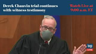 Derek Chauvin continues with witness testimony for sixth day - 4/5 (FULL LIVE STREAM)