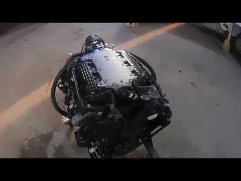 Фото к видео: Двигатель HONDA J30A для установки на катер