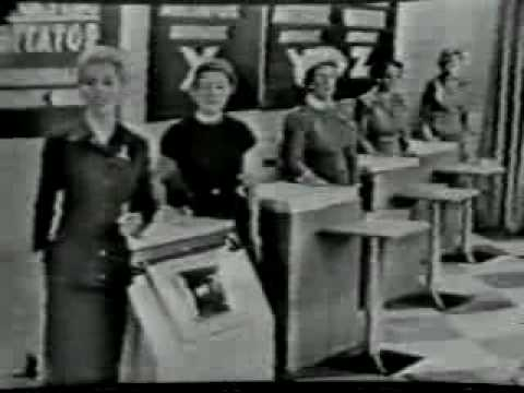Westinghouse live tv commercials 1957 part i youtube - Westinghouse and living ...