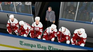 NHL 2004 Rebuilt: Tampa Bay 2016-2017 Game 1 vs. Detroit