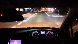 170シエンタ ガソリンG LEDパッケージの夜間走行です。