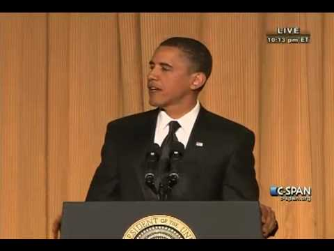 President Obama Remarks at 2010 White House Correspondents' Dinner