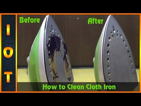 How To Clean Cloth Iron EASY WAY - Ideas On Trending